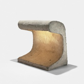 LE CORBUSIER - outdoor light fixture from Chandigarh Zoo