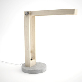 DIMEmexicandesign - wood and concrete lamp