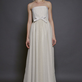 veronica sheaffer - strapless wedding dress