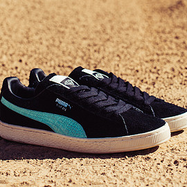 Diamond Supply Co., PUMA - Suede - Black/Teal?