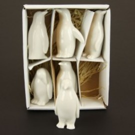 "3"" CERAMIC PENGUIN 6PC/BX"