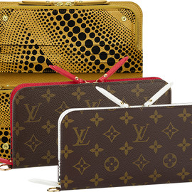 LOUIS VUITTON Yayoi Kusama 草間彌生 - Monogram Waves Insolite Wallet