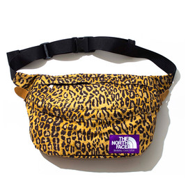 THE NORTH FACE PURPLE LABEL - THE NORTH FACE PURPLE LABEL PARA Cloth Leopard Print Waist Bag LE  LEOPARD