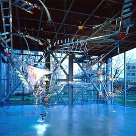 Sarah Sze -  Everything That Rises Must Converge 15