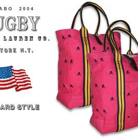 RUGBY RALPH LAUREN - Rugby All Over Skull Tote