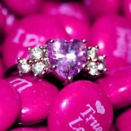 pink m's and pink diamonds