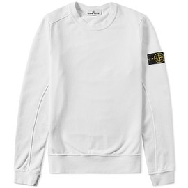 STONE ISLAND - GARMENT DYED SWEAT SHIRT