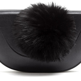Kzeniya - Exclusive Perspex and Pom Pom Clutch