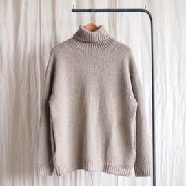 crepuscule - Turtleneck Knit #gray