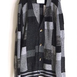 ANREALAGE - patchwork cardigan