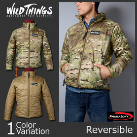 WILD THINGS - PRIMALOFT JACKET MULTICAM