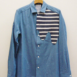 desertic - Liquid Shirt Jacket - Vintage Border -