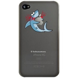 kukuxumusu - Kuku Shark Eater Case for iPhone 4 - Clear