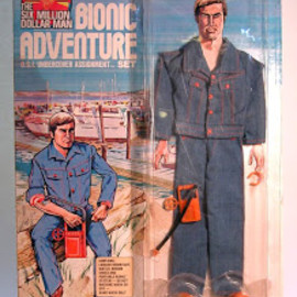 kenner - BIONIC ADVENTURE: OSI Undercover Assignment Set