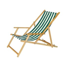 CONRAN SHOP - Striped Deckchair With Arms