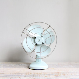 Vintage Industrial Electric Table Fan