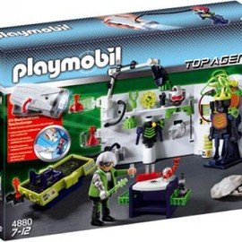 PLAYMOBIL  - Robo-Gangster Labor mit Multi