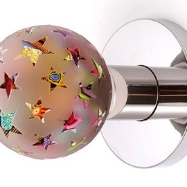 *** - sparkle star  door knob