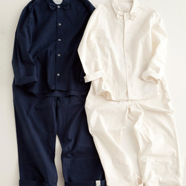 "NOWHAW, .efiLevol - ""paary"" pajama #Navy / #white パジャマ/蝶ネクタイ/ノウハウ/エフィレボル"