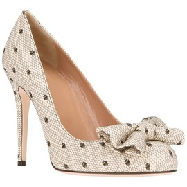 RED VALENTINO - bow detail pump