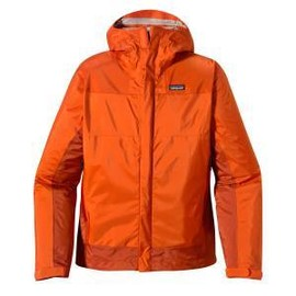 patagonia - Mens Rain Shadow Jacket- Bonfire Orange