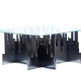 Punto Soave - Growing City side table