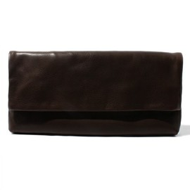 COSMIC WONDER Light Source - VEGETABLE TANNED LEATHER CLUTCH BAG