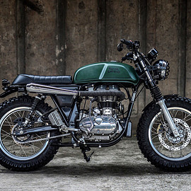 K-Speed - Royal Enfield Continental GT scrambler