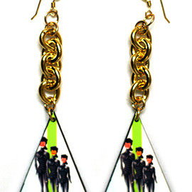 "Miss Wax - The ""Mind-Your-Speak"" Earrings"