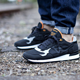 SAUCONY, Solebox - Shadow 5000 - Black/Orange/White