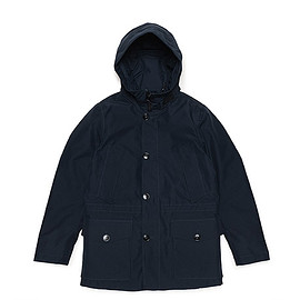 WOOLRICH - GTX Mountain Parka-Navy Melton