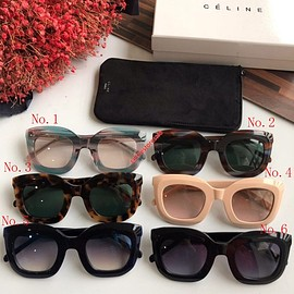 Celine - Celine Butterfly Sunglasses In Acetate