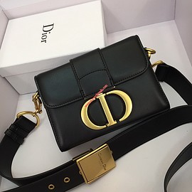Dior - Dior 30 Montaigne Calfskin Bag Black