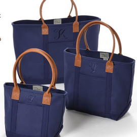 L.L.Bean, 伊勢丹新宿店 - NAVY ON NAVY TOTE BAG
