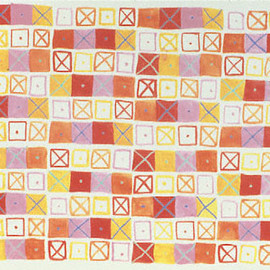 Ray Eames - Crosspatch Fabric
