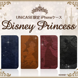 UNiCASE - 【UNiCASE限定】 ディズニープリンセス ウォレットケース for iPhone 5s/5