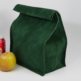 Homestead Leather Works - Leather lunch bag