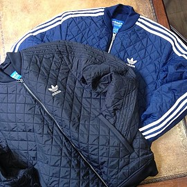 adidas originals - キルトトラックトップ[QUILTED SST TRACK TOP]