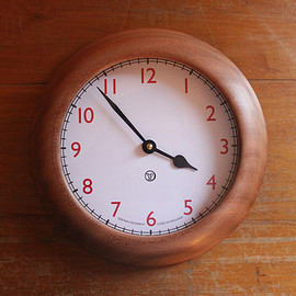 tender - HAND-TURNED WALL CLOCK