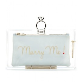 Charlotte Olympia - PANDORA MARRY ME BOX CLUTCH