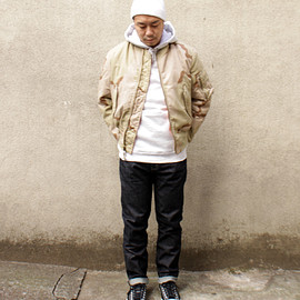 Alpha Industries, Levi's, Converse Skateboarding - Outfit