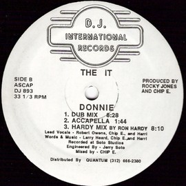 THE IT / DONNIE - D.J. INTERNATIONAL RECORDS  DJ893