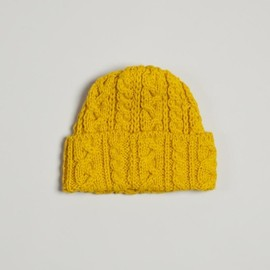 Highland 2000 - Cable Knit Hat - Yellow