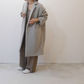 ARGUE - Alpaca&Wool ShaggyCoat