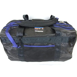 Patagonia - Wet and Dry Gear Bag 1991 Black/Purple