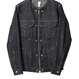 NADA. - Psychik cross embroidery denim JK-1