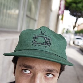 WKND Skateboards - TV Logo Snapback Green