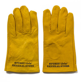 STUSSY Livin' GENERAL STORE - GS Leather Work Glove