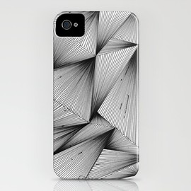 Society6 - Structure (XYZ) iPhone Case