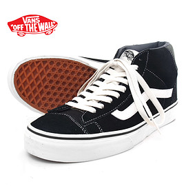 VANS - Mid Skool 77 Black Swede